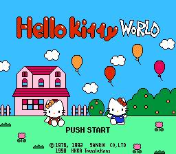 Hello Kitty World (Japan) [En by HK Kicks Ass v1.0]