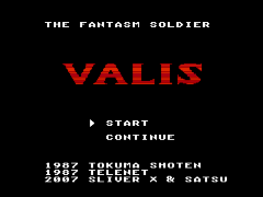 Valis - The Fantastic Soldier (Japan) [En by Satsu+Sliver X v1.0] (~Valis - The Fantasm Soldier)