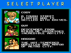 Mighty Final Fight (Europe)