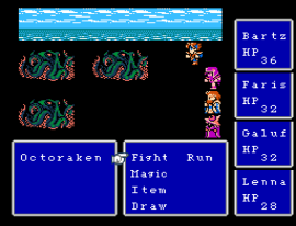 Final Fantasy (USA) [Hack by Grond v1.2] (~Final Fantasy Plus Plus - World of Chaos)