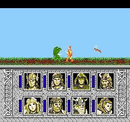 Advanced Dungeons & Dragons - Dragons of Flame (Japan)