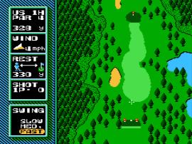 NES Open Tournament Golf (Europe)