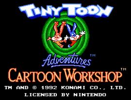 Tiny Toon Adventures Cartoon Workshop (Europe)