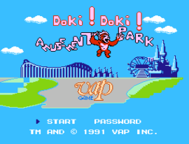 Doki! Doki! Yuuenchi (Japan) [En by No Talent v1.1] (~Doki! Doki! Amusement Park)