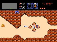 Legend of Zelda, The (USA) [Graphic Hack by PocketNES v1.0] (Pocket Edition)