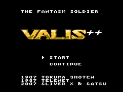 Valis - The Fantastic Soldier (Japan) [En+Hack by Satsu+Sliver X v1.01] (~Valis Plus Plus - The Fantasm Soldier)