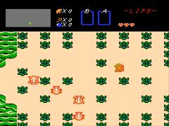 Legend of Zelda, The (USA) [Graphic Hack by CuteRomz v1.0] (~Cute Legend of Zelda) (Link's Awakening GFX)
