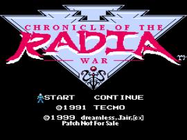 Radia Senki - Reimei Hen (Japan) [En by Dreamless+Jair+CX v1.0] (~Chronicle of the Radia War)