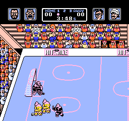 Hit the Ice - VHL the Video Hockey League (USA) (Proto)