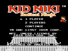 Kid Niki - Radical Ninja (USA)