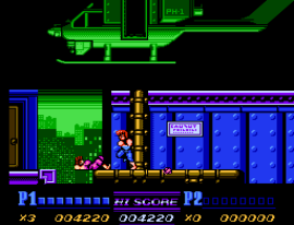 Double Dragon II - The Revenge (Japan) (Beta)
