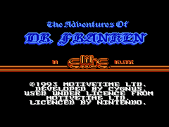 Adventures of Dr. Franken, The (USA) (Proto)