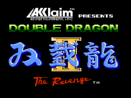 Double Dragon II - The Revenge (USA) (Rev A)