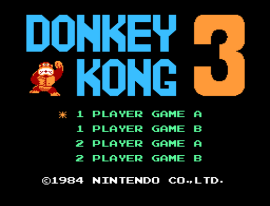 Donkey Kong 3 (World)