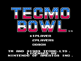 Tecmo Bowl (USA) (Rev A)