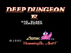 Deep Dungeon 4 - Kuro no Youjutsushi (Japan) [En by Dragoon-X v1.0] [Mapper Fix by Spinner 8] (~Deep Dungeon 4 - The Black Sorcerer)
