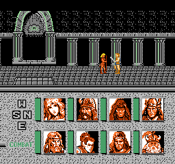 Advanced Dungeons & Dragons - Heroes of the Lance (Japan)