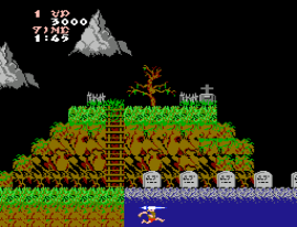 Ghost'n Goblins (Europe) [Hack by Plimoth Legaue v1.0] (~All Hallows Eve)