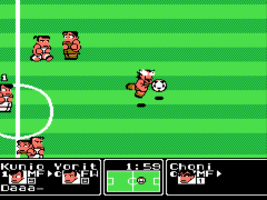Kunio Kun no Nekketsu Soccer League (Japan) [En by PentarouZero v1.2] (Technos Soccer League)
