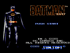 Batman - The Video Game (USA) [Hack by Deespence2929 v1.0] (~Batman - Easy)