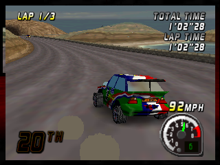 Top Gear Rally (Europe)