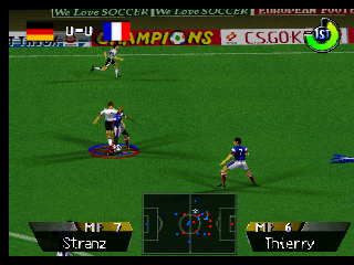 International Superstar Soccer 64 (Europe)