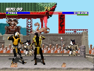 Mortal Kombat Trilogy (USA)