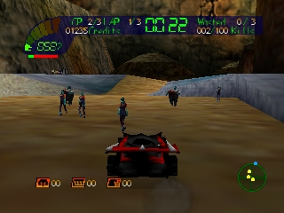 Carmageddon 64 (Europe) (En,Fr,Es,It)