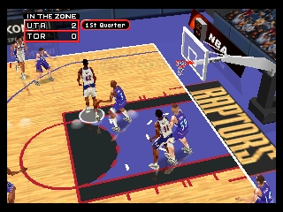 NBA in the Zone 2000 (Europe)