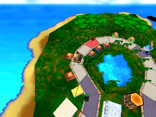 Bakushou Jinsei 64 - Mezase! Resort Ou (Japan)