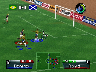 International Superstar Soccer '98 (Europe)