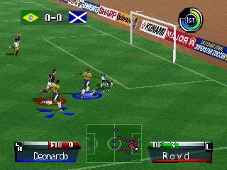 International Superstar Soccer '98 (Europe)