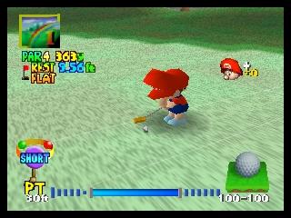 Mario Golf (USA)