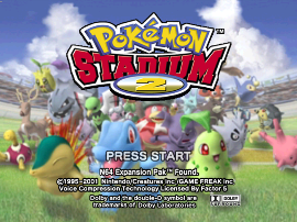 Pokemon Stadium 2 (USA)