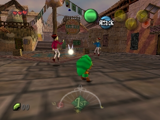 Legend of Zelda, The - Majora's Mask (Europe) (En,Fr,De,Es) (Rev A)