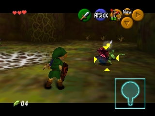 Legend of Zelda, The - Ocarina of Time (USA) (Rev A)