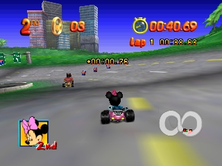 Mickey no Racing Challenge USA (Japan)