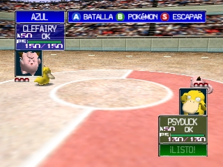 Pokemon Stadium (Spain)