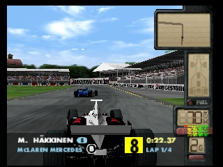 F-1 World Grand Prix II (Europe) (En,Fr,De,Es)