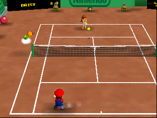 Play Nintendo 64 Mario Tennis (USA) Online in your browser