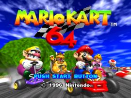 Mario Kart 64 (E)