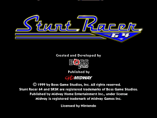 Stunt Racer 64 (USA)