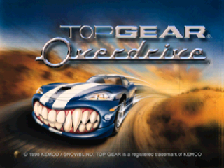 Top Gear Overdrive (Japan)