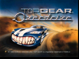 Top Gear Overdrive (Europe)