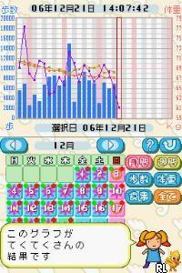 DS Teku Teku Nikki - Walking & Diet Diary (Japan)