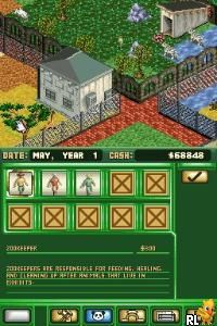 Zoo Tycoon DS (Europe)