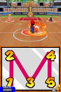 Mario Slam Basketball (Europe) (En,Ja,Fr,De,Es,It)