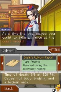 Phoenix Wright - Ace Attorney - Justice for All (Europe) (En,Fr,De)