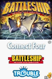 4 Game Pack! - Battleship + Connect Four + Sorry! + Trouble (USA)