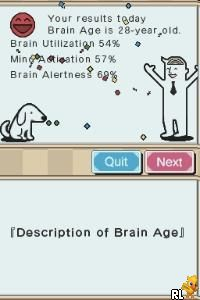 Mind Quiz - Your Brain Coach (Europe) (En,Fr,De,Es,It)